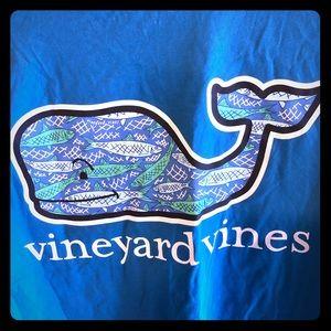 Women's Vineyard Vines XS graphic T-shirt teal